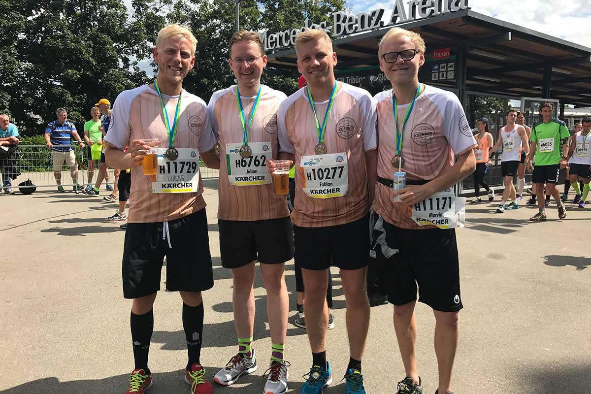 Team KOERNER beim 24. Stuttgart Lauf