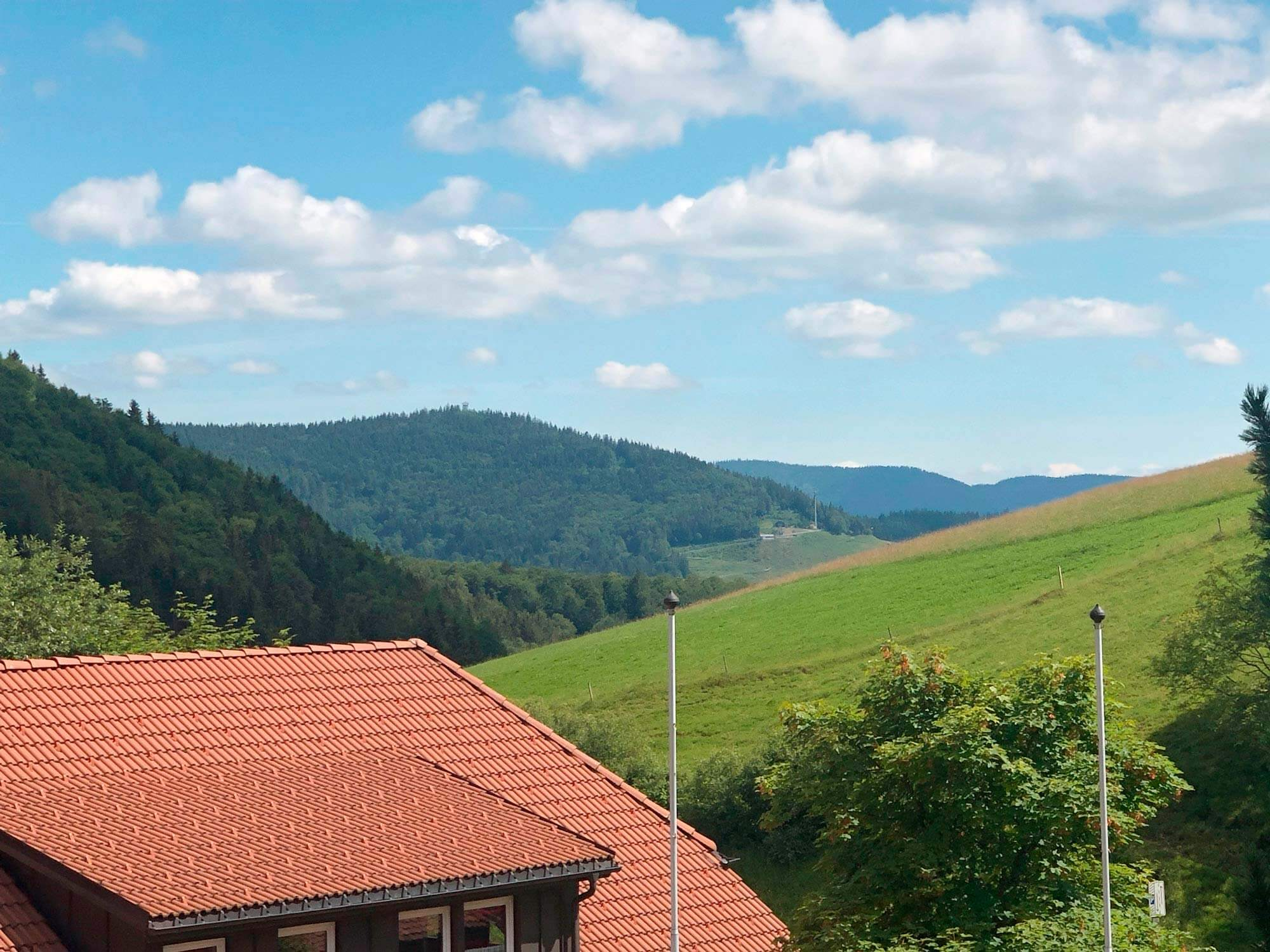 KOERNER Sauna mit Ausblick ins Schwarzwälder Tal