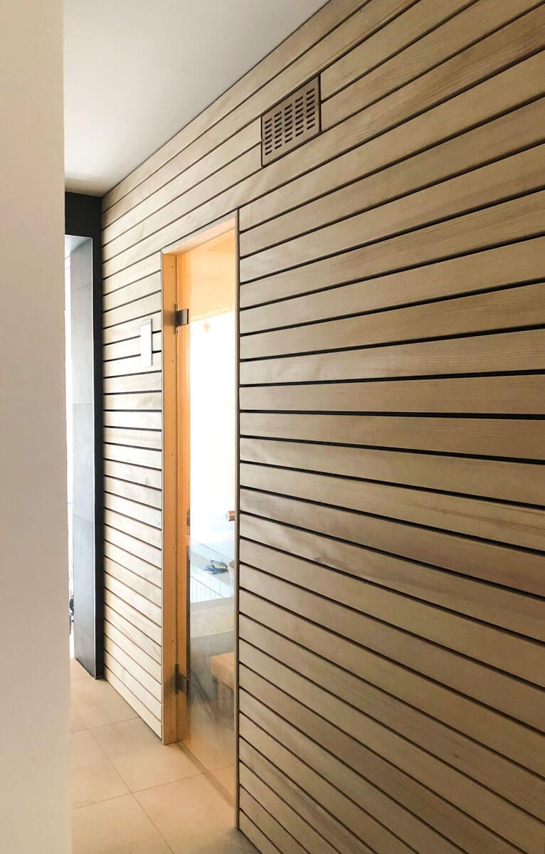KOERNER Sauna Außenansicht