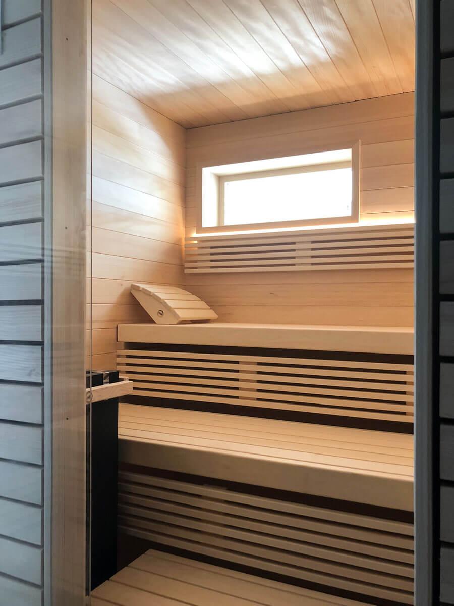KOERNER Sauna Innenansicht