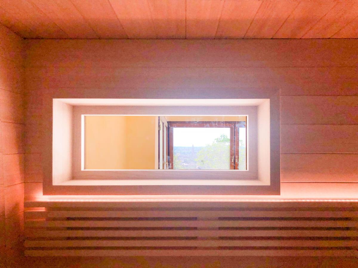 KOERNER Sauna Fenster