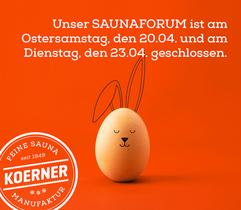 Saunaforum in Albstadt am 20. April und 23. April 2019 geschlossen