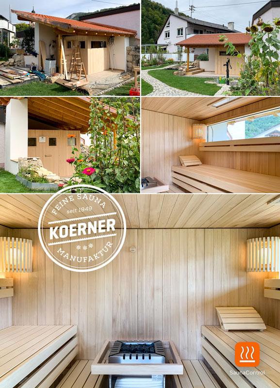 KOERNER Outdoor-Sauna im Garten, Bäratal