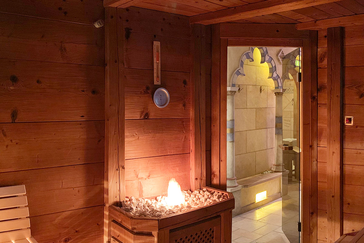 KOERNER Agadir Sauna im Hotel Andaluz, Europapark