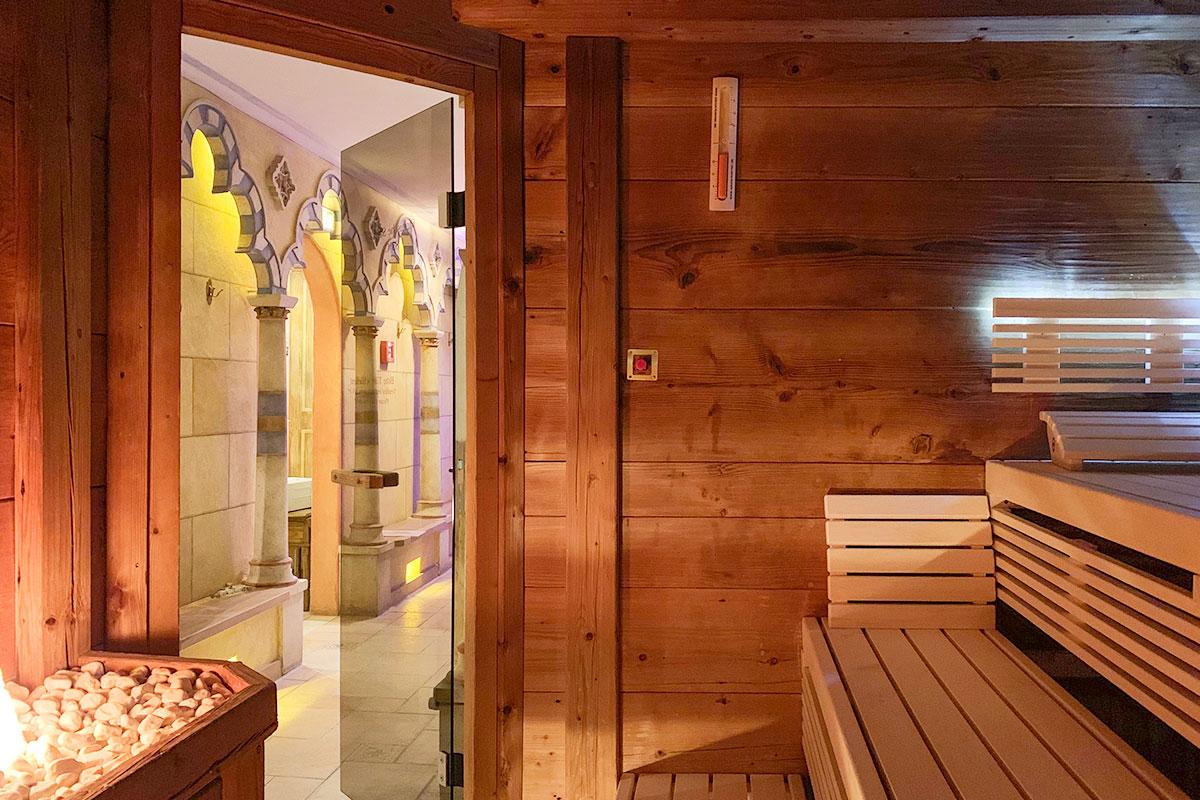 Agadir Sauna im Hotel Andaluz der KOERNER Saunamanufaktur