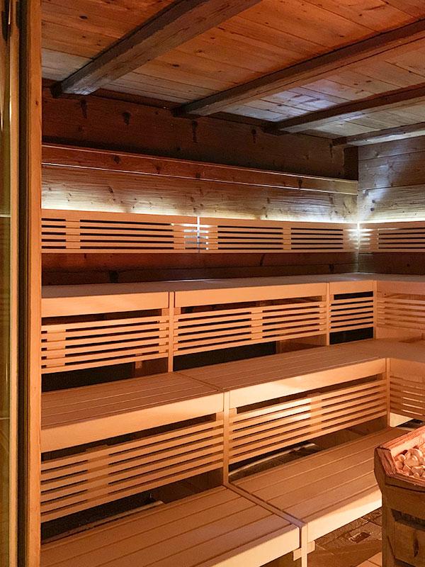 KOERNER Sauna im Hotel Andaluz, Europapark