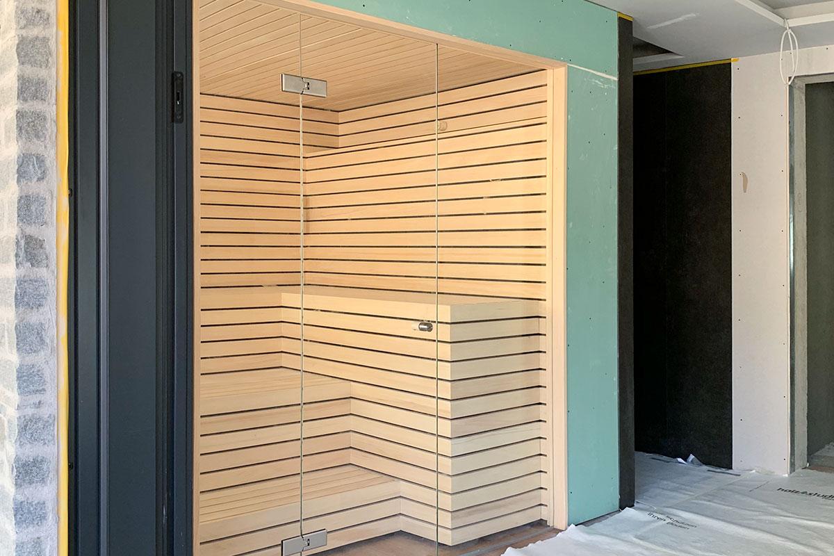 KOERNER Sauna im Ferienhaus in Österreich