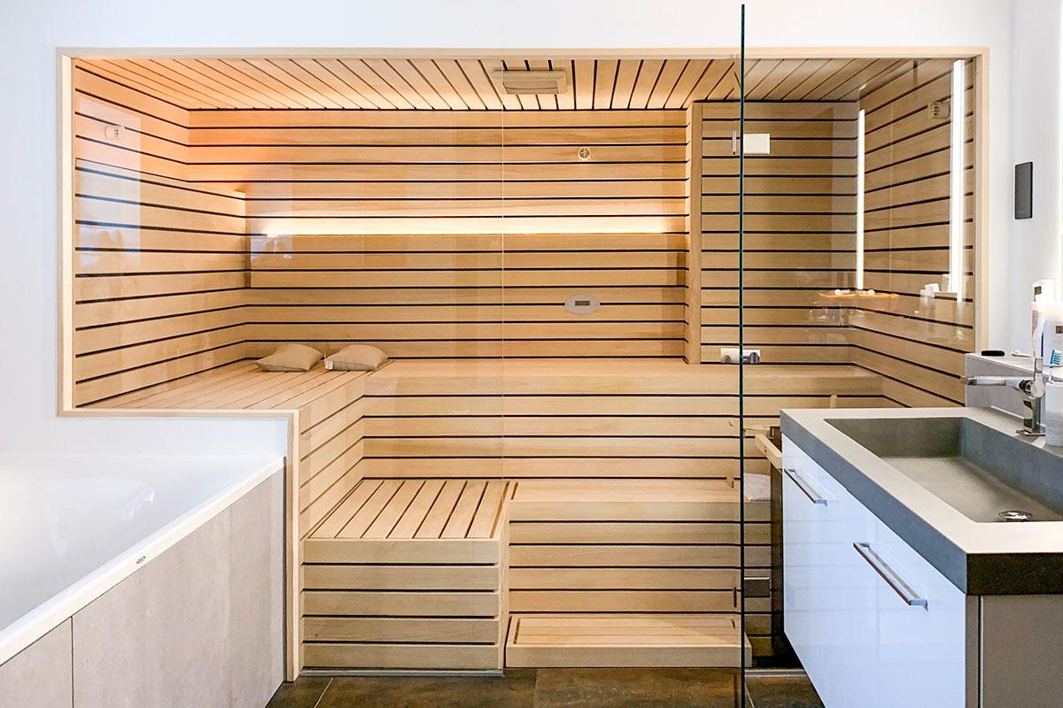 KOERNER Sauna nach Maß am Bodensee