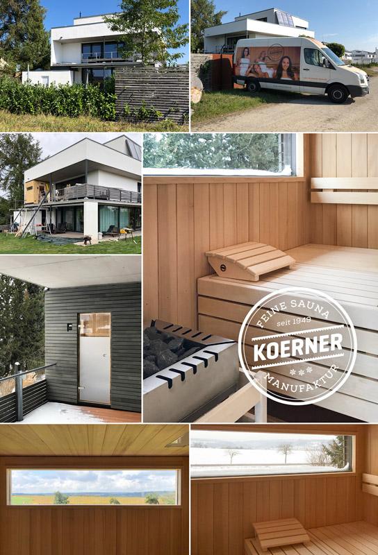 KOERNER Sauna mit OUTDOOR-Paket in Sigmaringen