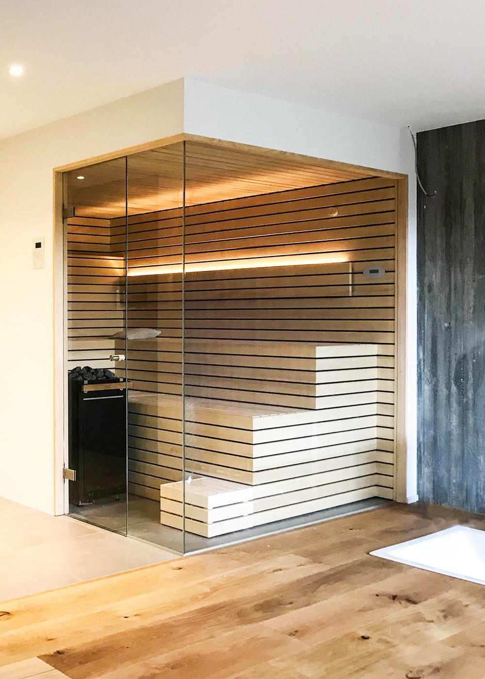 Individuelle Sauna von KOERNER Saunamanufaktur