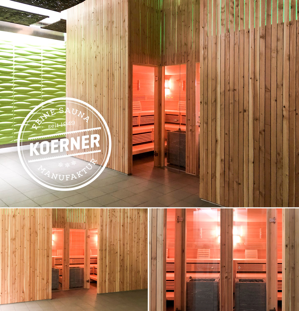 KOERNER Sauna im Wellness-Center, Schweiz