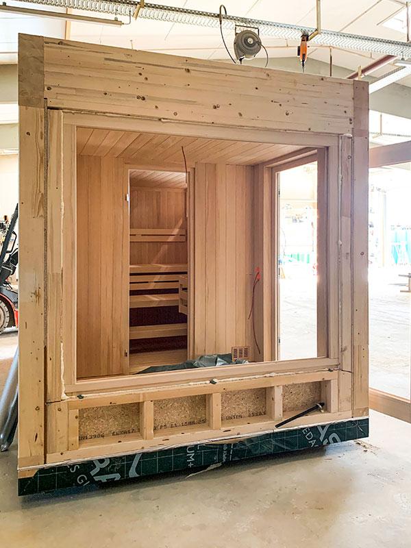 KOERNER Saunabau – Outdoor-Sauna