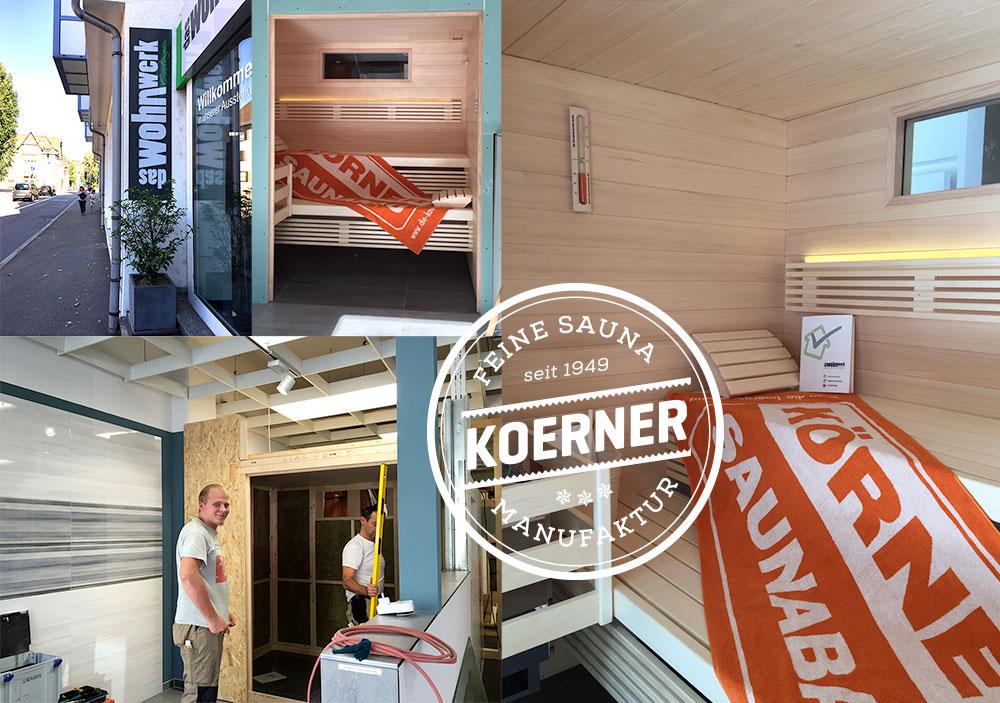 Sauna Showroom in Esslingen