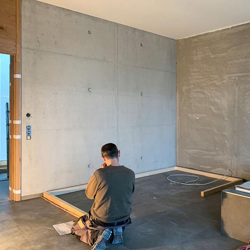 KOERNER Saunabau im Neubau