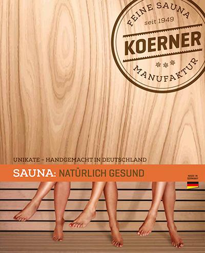 KOERNER Sauna Katalog