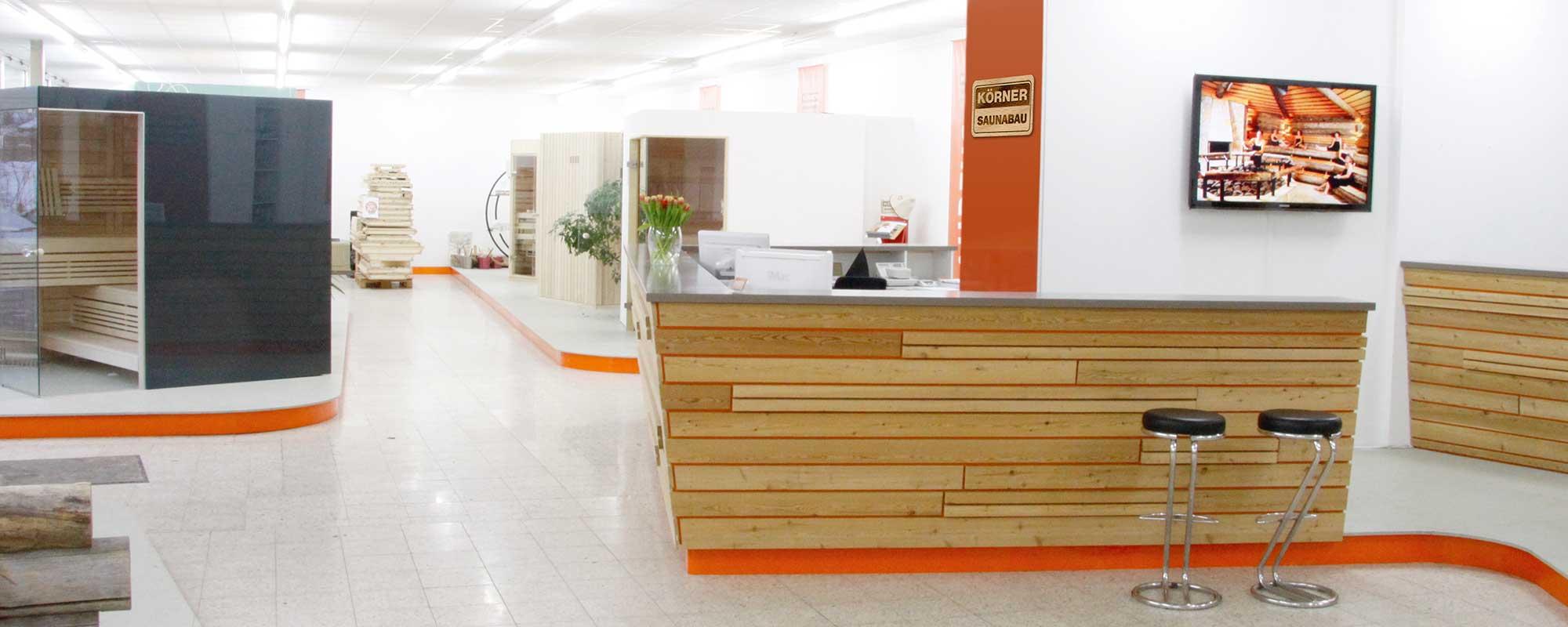 KOERNER Sauna-Ausstellung