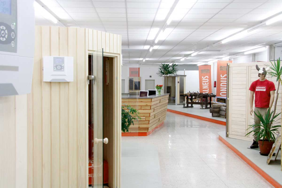 KOERNER Sauna Showroom