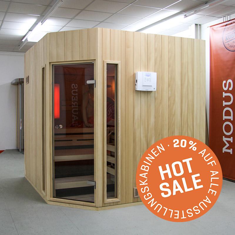KOERNER Sauna MODUS DREIHEIZER – Sale