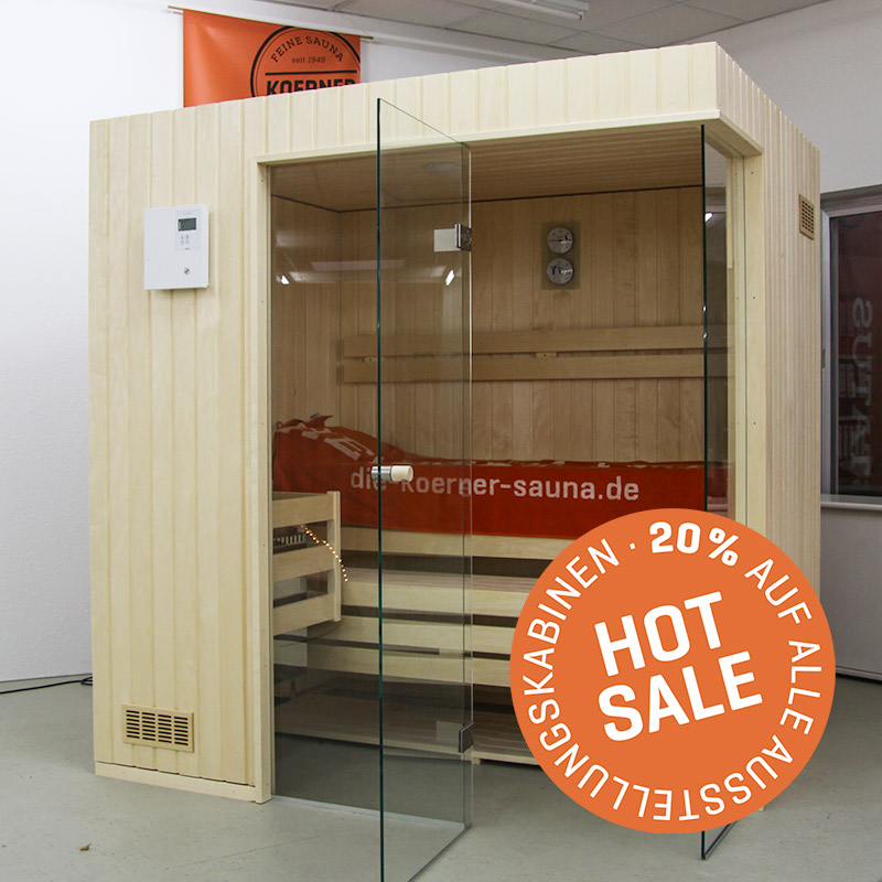 KOERNER Sauna STATUS EINHEIZER – Sale
