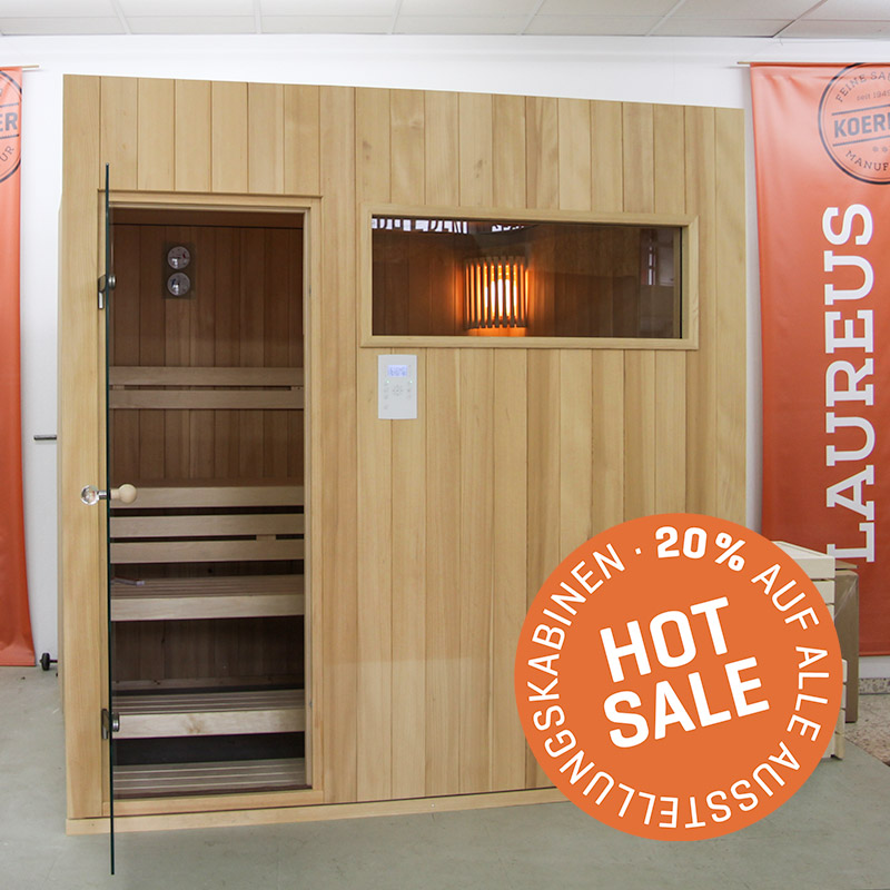 KOERNER Sauna MODUS ZWEIHEIZER – Sale