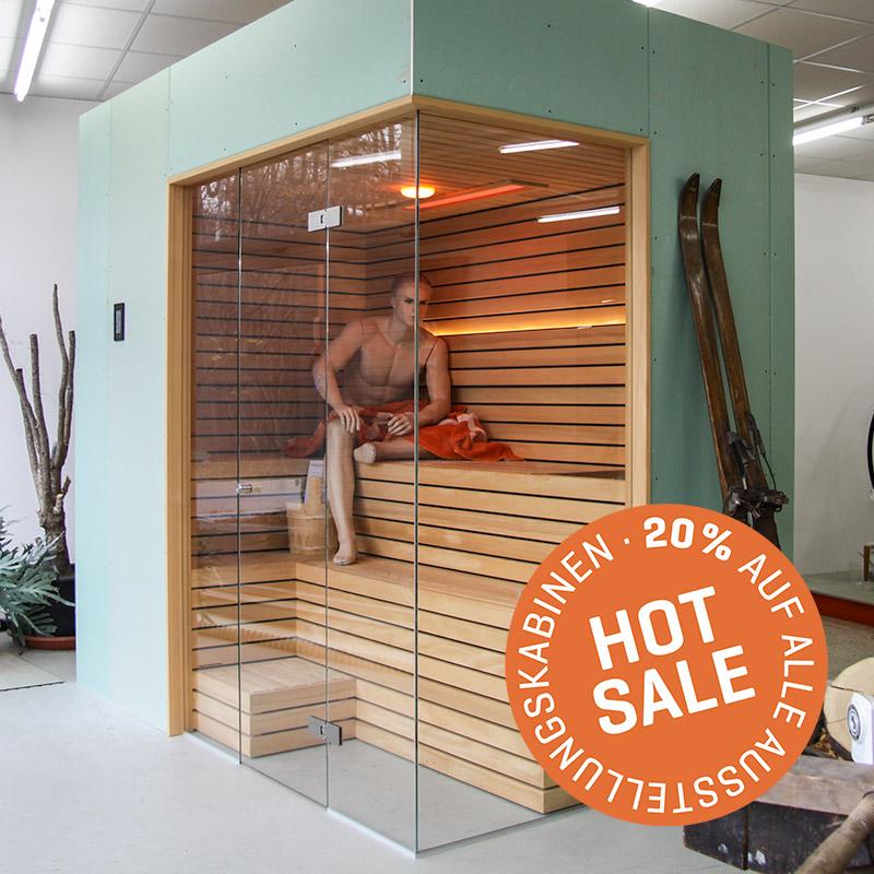 KOERNER Sauna LINEUS DREIHEIZER – Sale