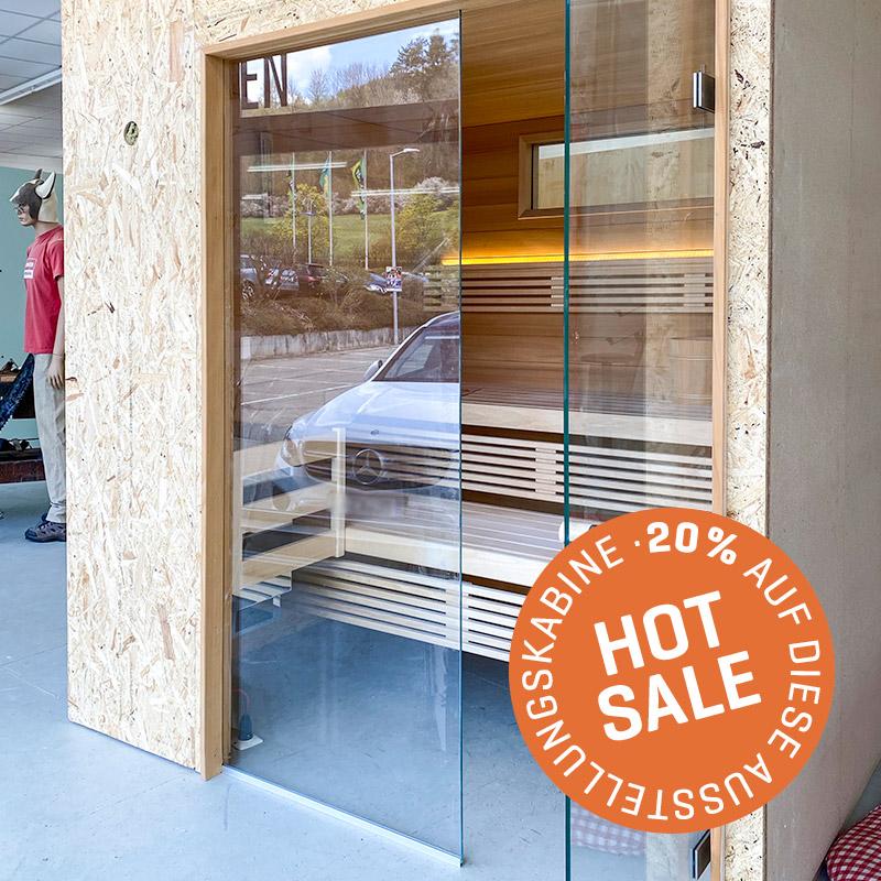KOERNER Sauna LAUREUS EINHEIZER – Ausstellungsstück im Sale