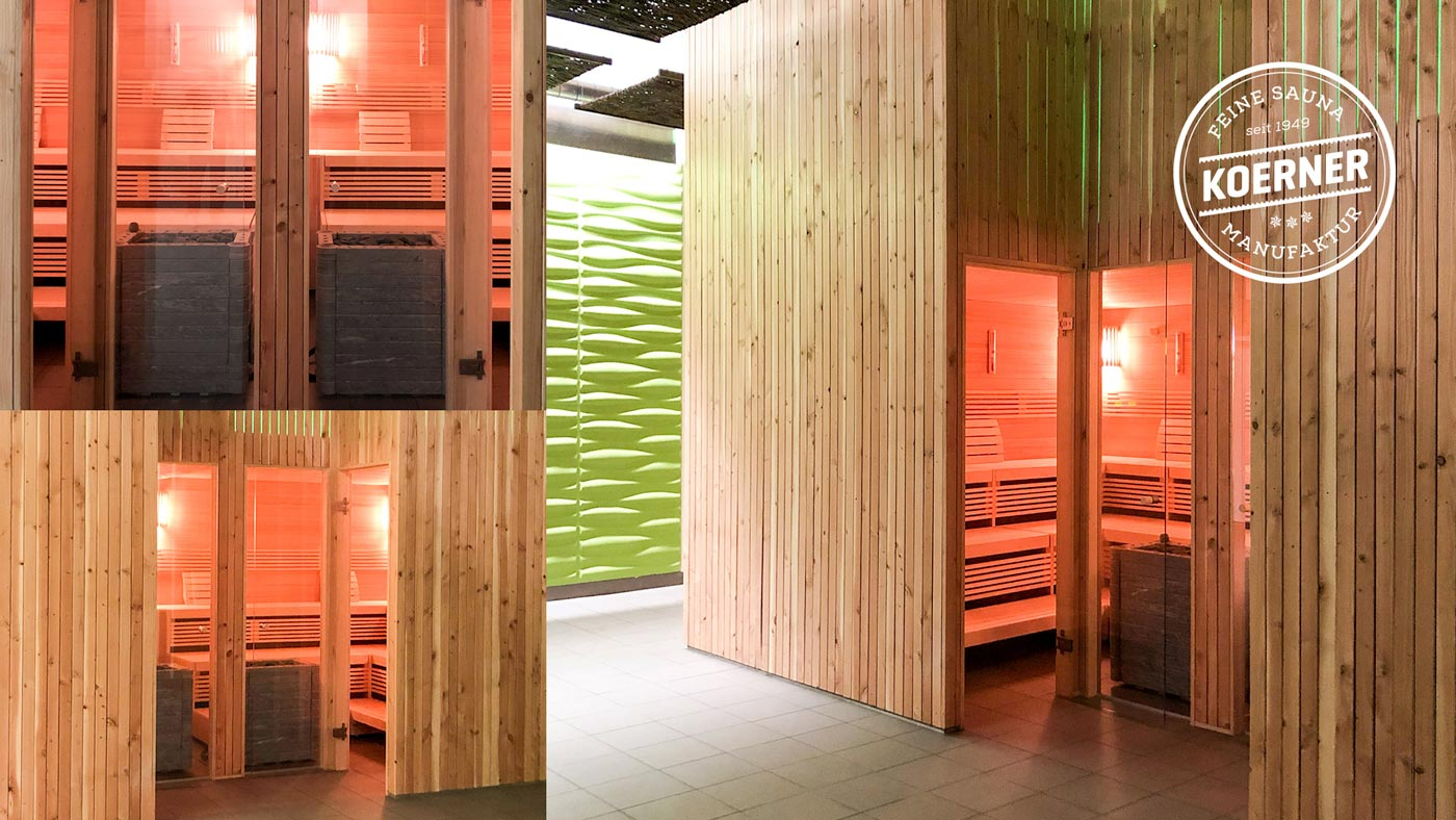 KOERNER Sauna in Wellnesscenter, Schweiz