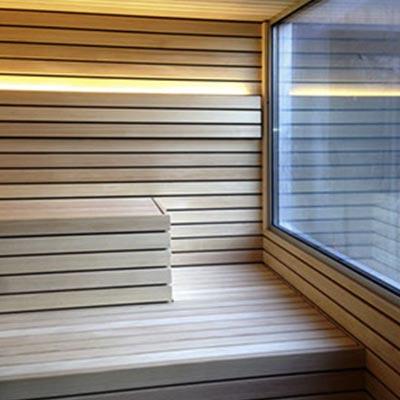 Koerner Sauna Lineus mit Fenster