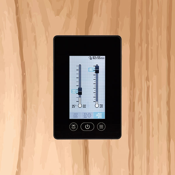 Sauna-Steuerung per Smartphone