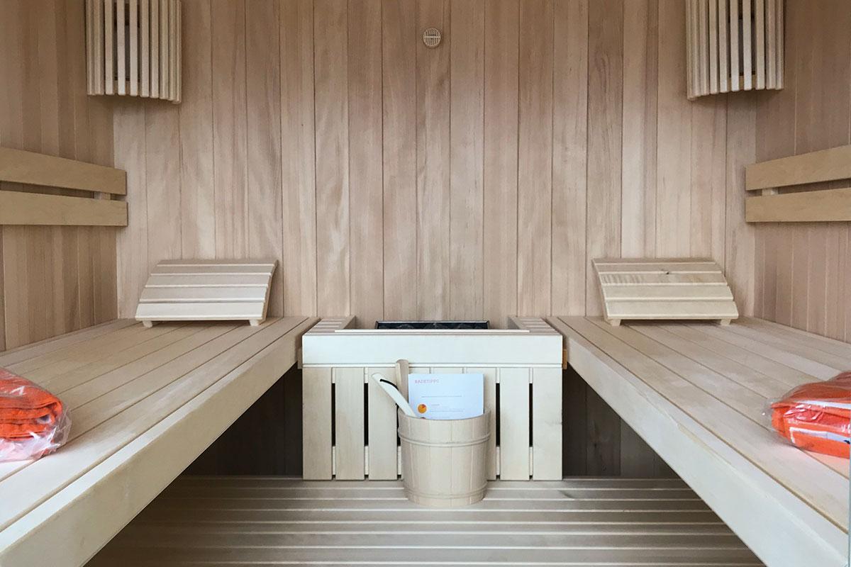 KOERNER Sauna Modus