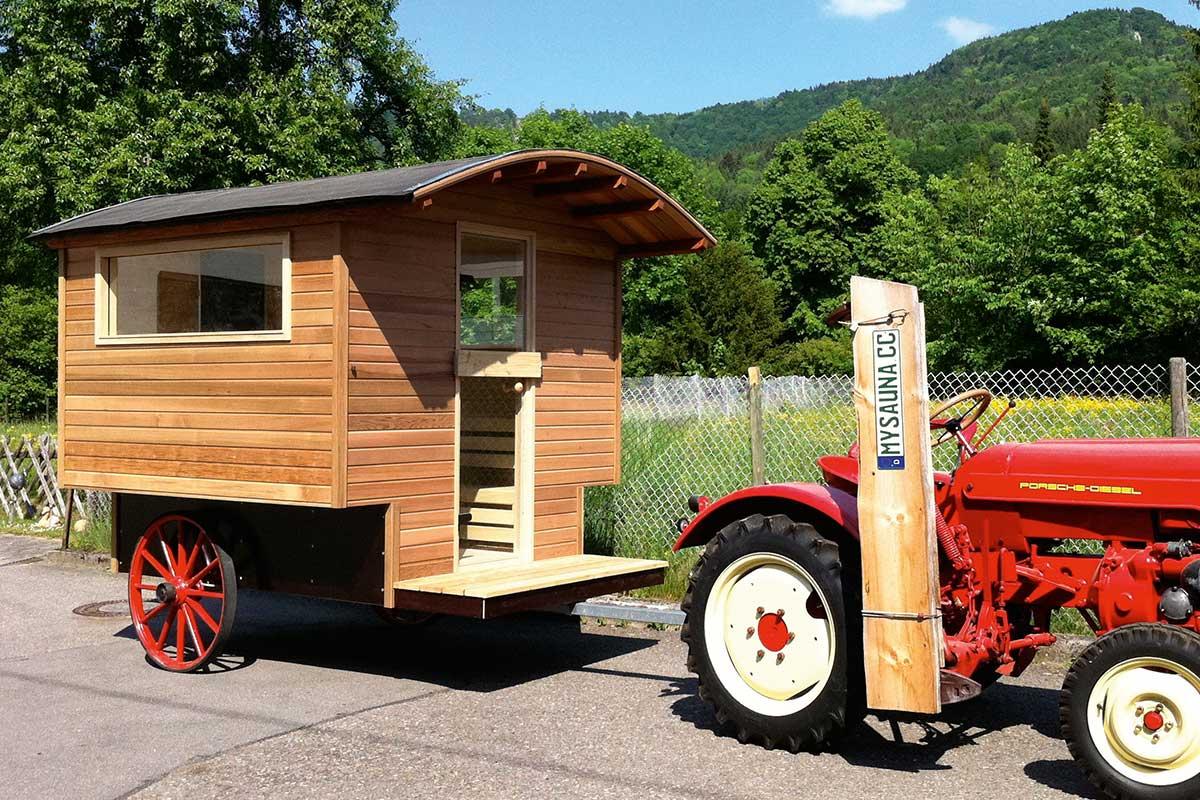 KOERNER Sauna-Anhänger Traktor