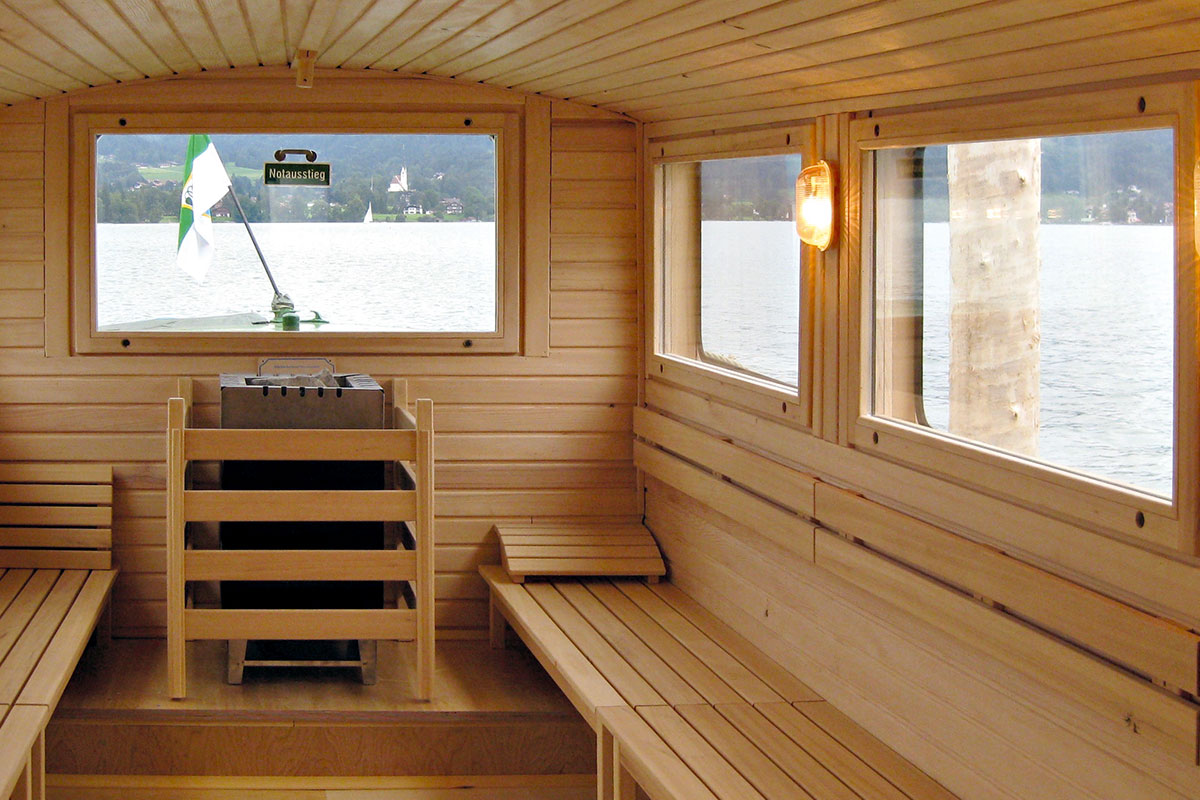 KOERNER Sauna-Schiff