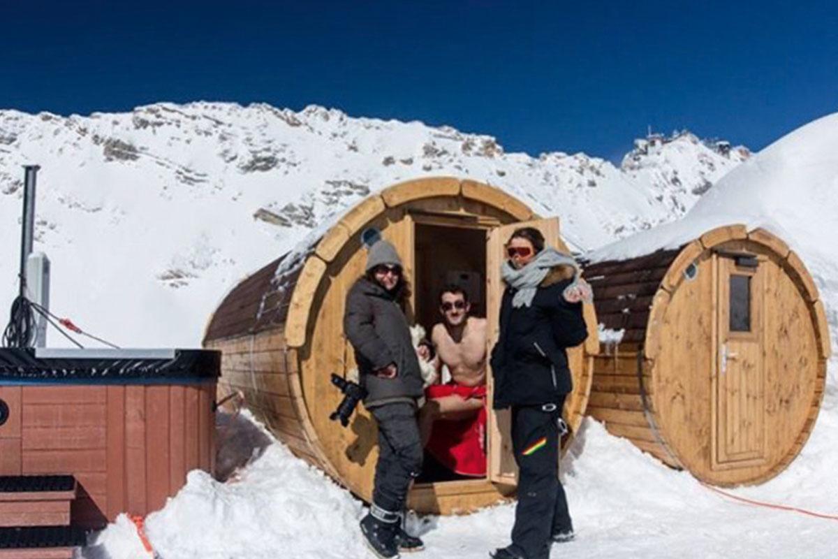 KOERNER Sauna Zugspitze