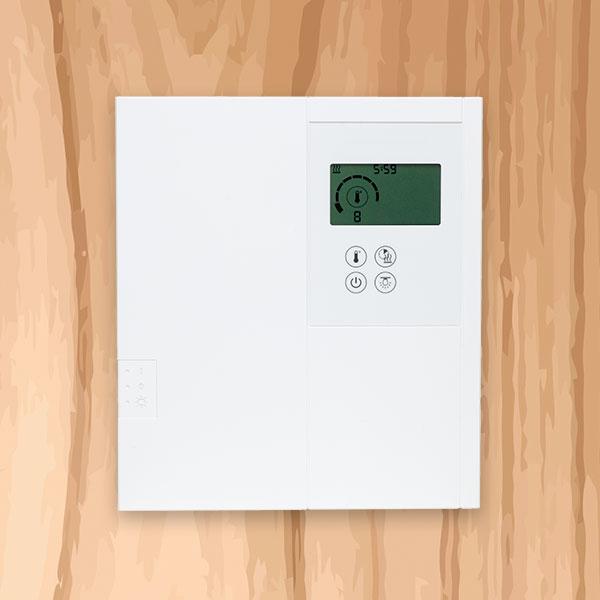 Sauna Steuerung
