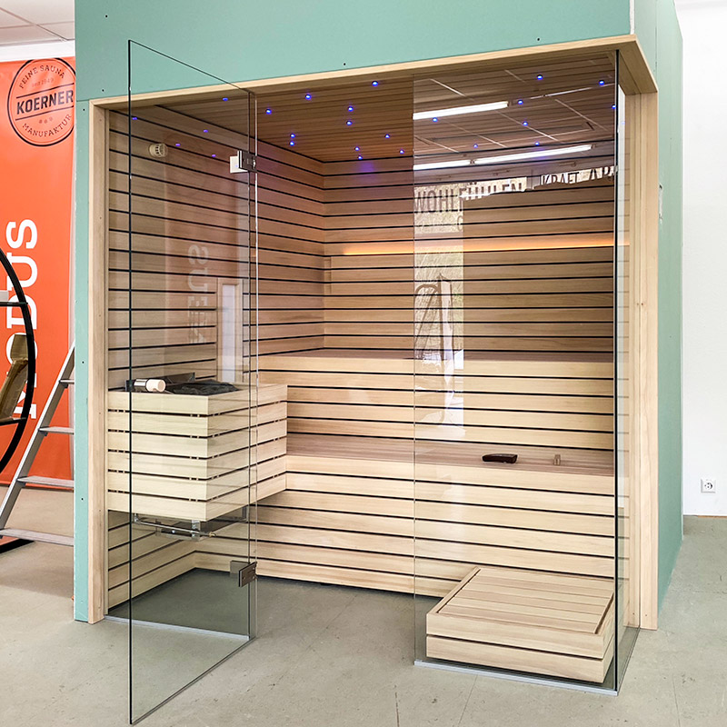 Sauna Showroom und Outlet