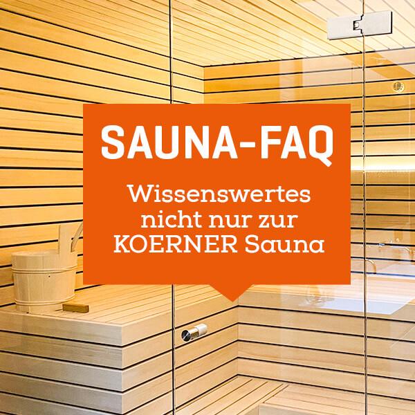 Sauna FAQ
